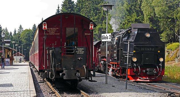 Brocken Railway, Railway Station, Schierke