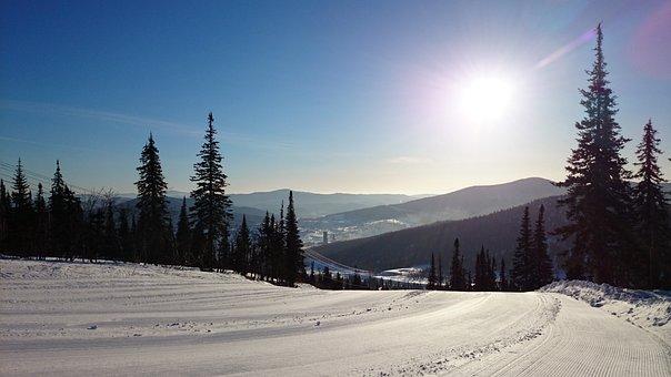 Sheregesh, Mountains, Winter