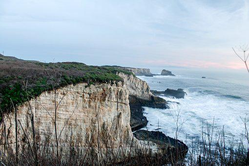 Santa Cruz, Shore, Ocean, Sea, Beach, Coast, Water