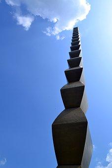 Infinite, Sky, Vertical, Infinity Column, Brancoveanu