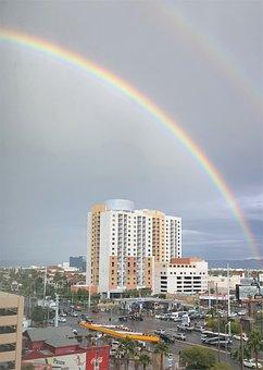 Rainbow, Las Vegas, Casino, Vegas, Tourism, Luck