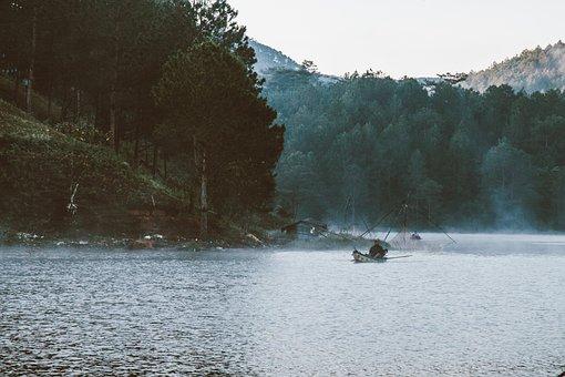 Vietnam, Da Lat, Tuyen Lam Lake