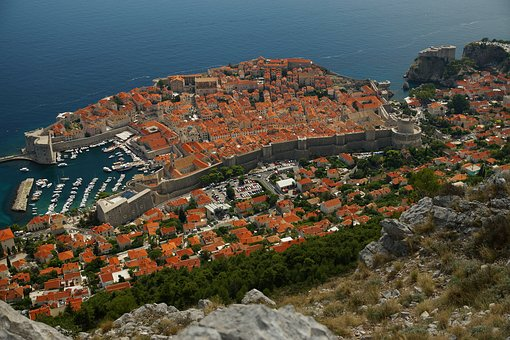 Dubrovnik, View, The Roofs, Architecture, Unesco