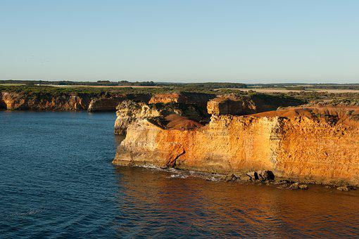 Australian Coastline, Coast, Cliffs, Ocean, Nature