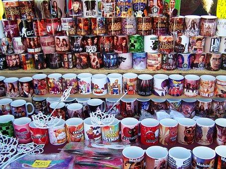 Cups, Ceramic, Color, Subtitles