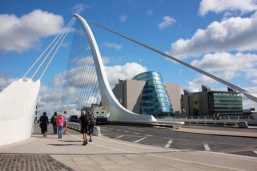 Ireland, Bro, Dublin, Convention Centre Dublin