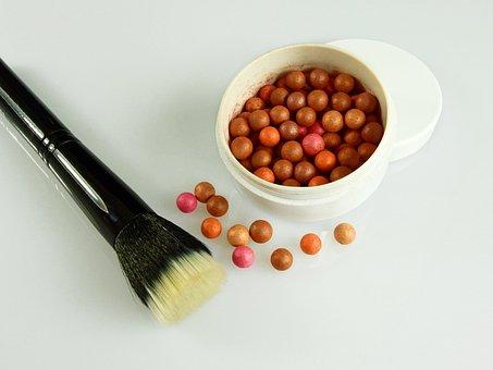 Cosmetics, Make Up, Schmink Brush, Makeup, Beauty
