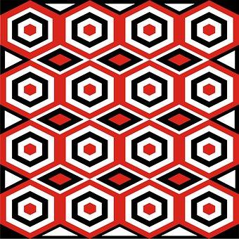 Motif, Batik, Design, Decorative, Print, Indonesian