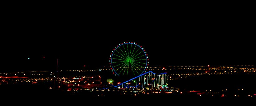 Ferris Wheel, Kurdistan, Kurdish, Playground, Land