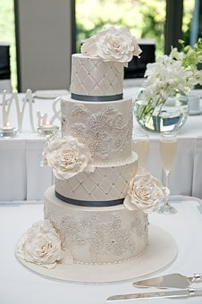 Wedding, Wedding Cake, Cake, Food, Sweet, White