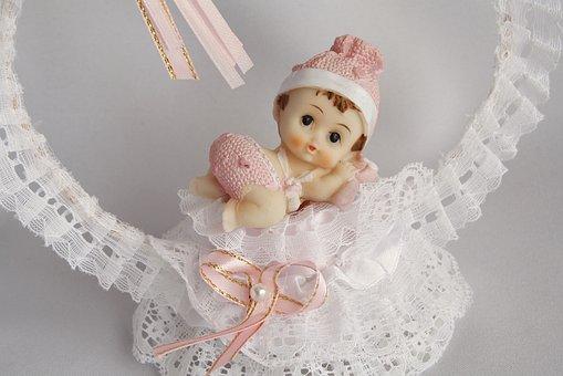 Tape, Baby, Baby Shower, Fabric, Miniature, Gift