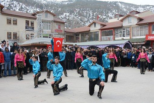 Turkey, Gümüşhane, Joy, Horon, Culture, Hello