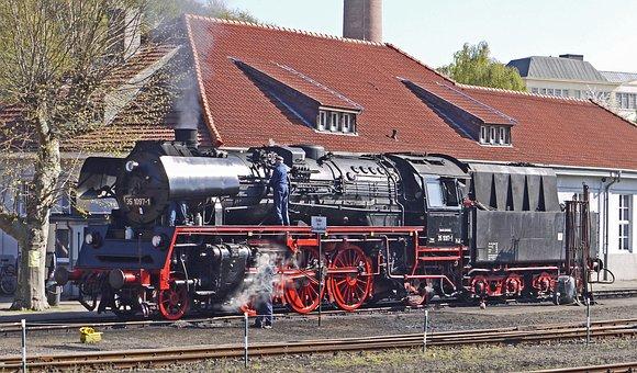 Steam Locomotive, Dr, Guest Loco, Railway Museum