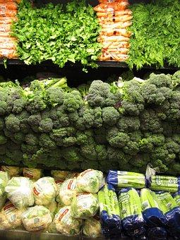 Vegetables, Green, Food, Broccoli, Leaf, Fresh, Healthy