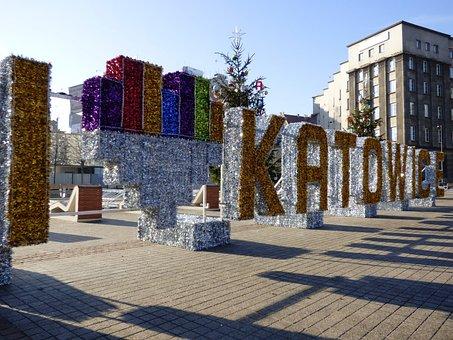 Katowice, Symbol, The Market, Love, Heart