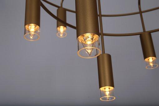 Chandelier, Interior Lighting, Lighting Design, Konsyap