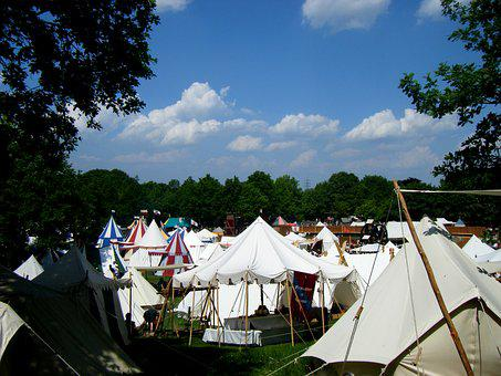 Middle Ages, Tents, Event, Tent City, Medieval Market