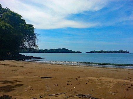Boca Brava, Panama, Island, Pacific, Beach, Sea, Sand