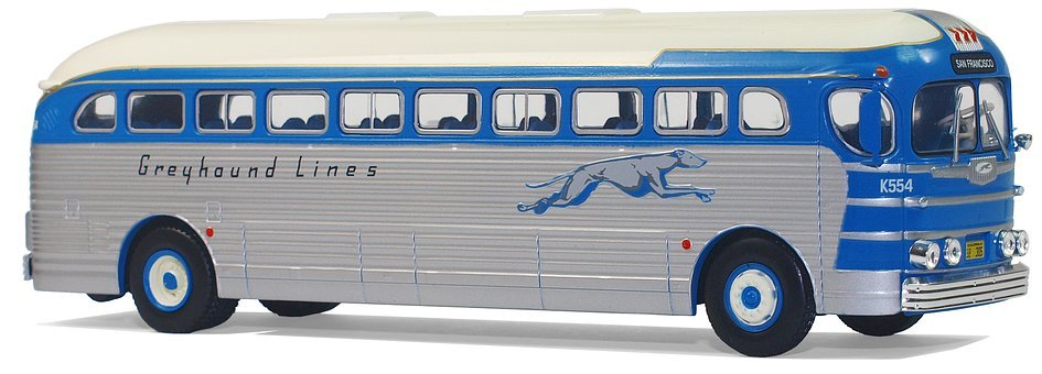 Gmc, Pd-3751, Greyhound Lines 1947, Usa, Collect, Hobby