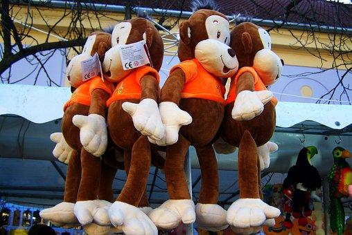 Monkey, Plush állatfigura, Child's Play