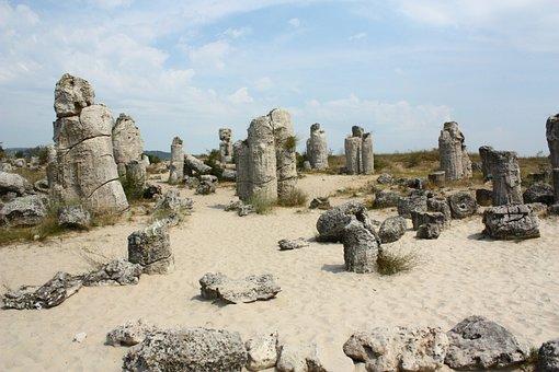 Varna, Bulgaria, Pobitite, The Stone Desert, Stones