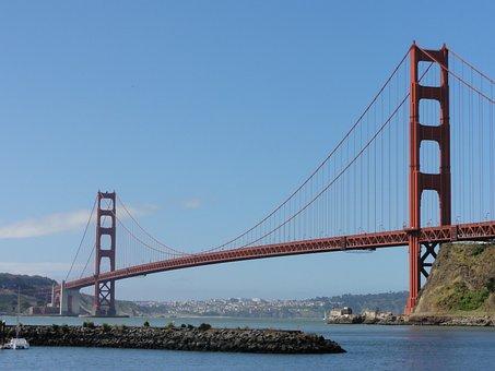Golden Gate Bridge, San Francisco, America, Bridge