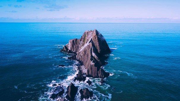 San Pedro Rock, Sea, Ocean, Water, Landmark, Tourism