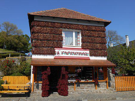 Shop, Authentic, Traditional Tihany, Rustic, Resort