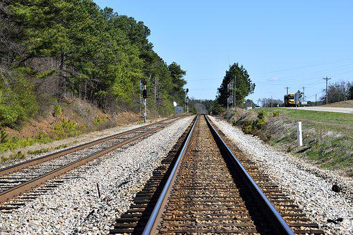 Railroad, Tracks, Railway, Transportation, Transport