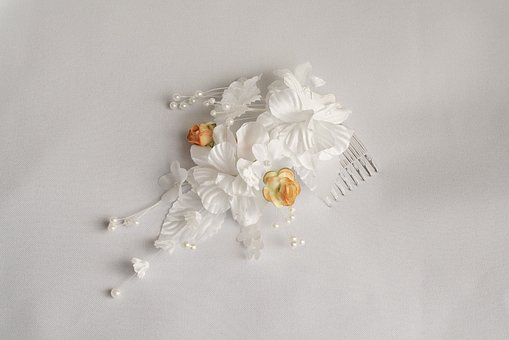 Flower, Comb, Trim, Artificial, Petals, Hairstyle
