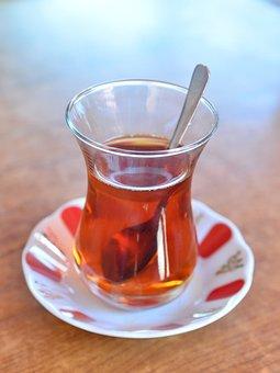 Turkish Tea, Glass, Tea