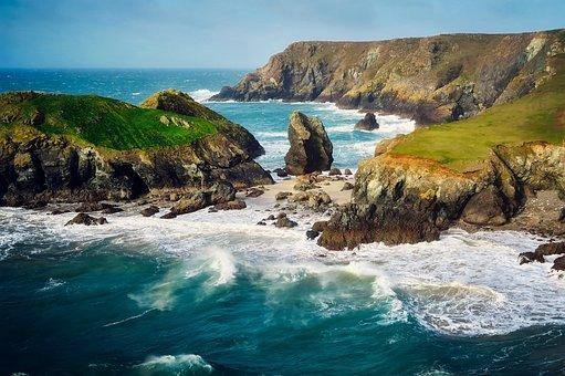 England, Great Britain, Uk, Cove, Sea, Ocean Water