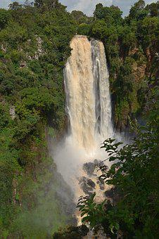 Kenya, Waterfall, Nature, Africa, Travel, River, Water
