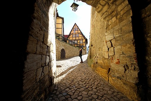Passage, Archway, Middle Ages, Masonry, Ancient