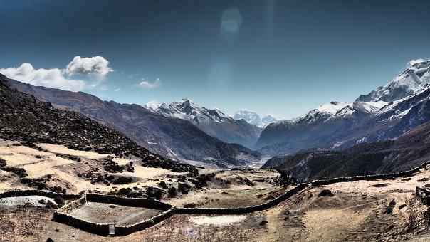 Asia, Nepal, Annapurna Circuit, Altitude, Extreme