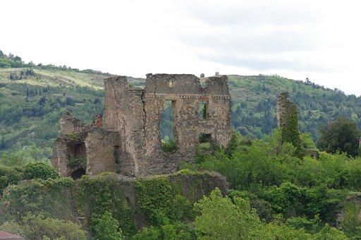 Castle, Ruin, Heritage, Cathar Country, Cathar Castle