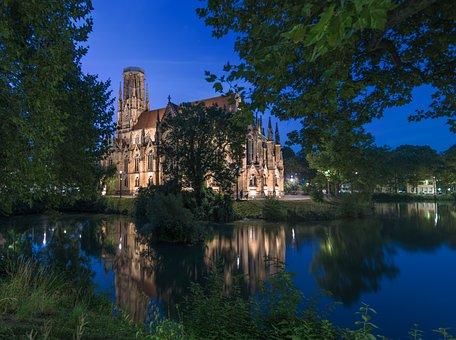 St John's Church, Stuttgart, Feuersee, Chapel, Church