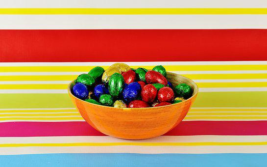 Chocolate Eggs, Easter, Happy Easter, Easter Eggs