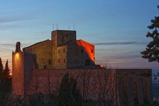 Verucchio, Rimini, Emilia Romagna, Italy, Rocca