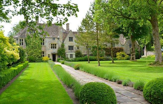 Garden, Old English Cottage, Amesbury, Green