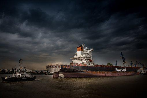 Hamburg, Port, Hamburg Port, Elbe, Hanseatic City, Ship
