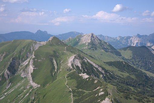 Schochen Top, Sulz Tip, Aggenstein, Hiking Area, View
