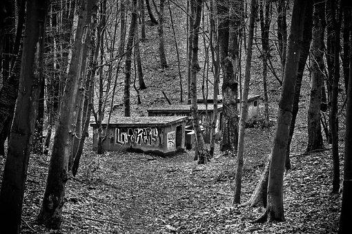 Lost Places, Bunker, War, World War, History
