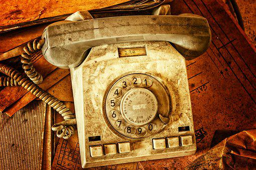Phone, Dial, Old, Telephone Handset, Call, Listeners
