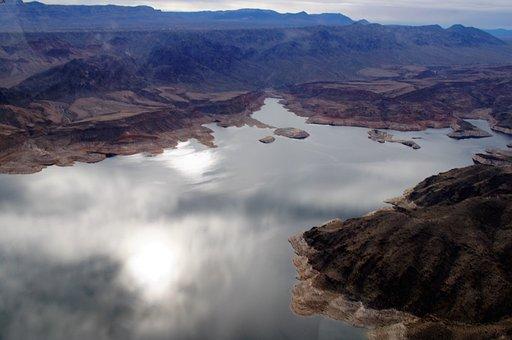 Lake Mead, Nevada, Colorado River, Mountains, Lake