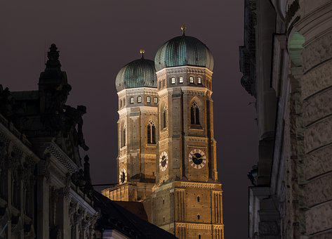 Frauenkirche, Munich, Bavaria, State Capital, City