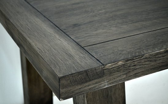 Oak, Tabletop, Table, Antik Grey
