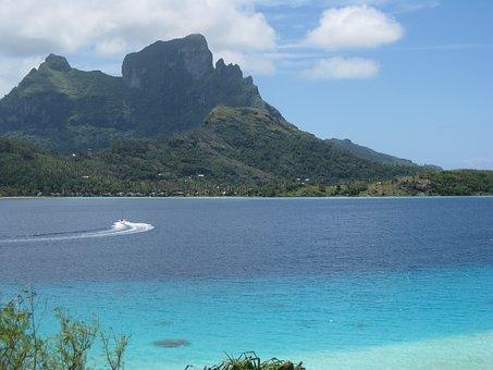 Volcano, Vacation, Bora Bora, Holiday, Paradise, Tahiti