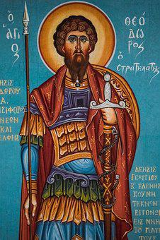 St Theodore, Saint, Religion, Church, Iconography