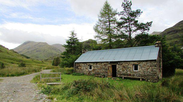 Corryhully, Scotland, Mountains, Bothy